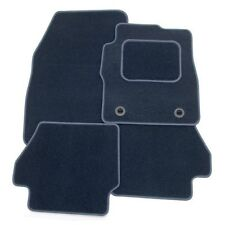 Perfect Fit Navy Blue Carpet Car Floor Mats ford Galaxy 06> - Thick Heel Pad