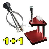 Watch Repair Fitting Tools: Hand Presto Presser + Lifter Puller Plunger Remover