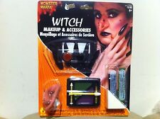 New Witch Halloween Makeup and Accessories by Monster Mania