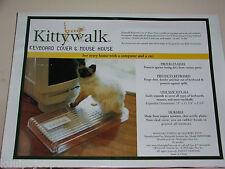 KITTYWALK KEYBOARD COVER & MOUSE HOUSE NIB