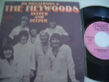 BO DONALDSON AND THE HEYWOODS 45T DEEPER AND DEEPER.