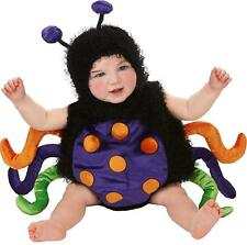 Baby's Infant Romper Cute Bug Spider-Multi Color Halloween Costume Sz 0-6 Month