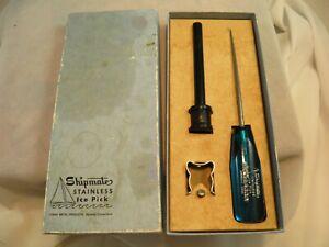 Vintage Lyman Metal Shipmates Ice Pick Original Box & Hardware
