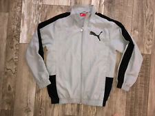 Pretty Jacket Of Tracksuit Grey/Black Puma Size 12 Years