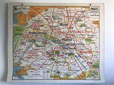 Carte scolaire Vidal Lablache n°24 Paris Capitale