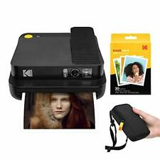 KODAK Smile Classic Digital Instant Camera with Bluetooth (Black) Starter Kit