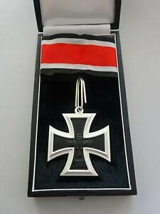 57er Orden von S+L Ritterkreuz im Etui EK II mehrteilig