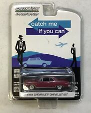 GREENLIGHT COLLECTIBLES CATCH ME IF YOU CAN 1964 BURGUNDY CHEVROLET CHEVELLE SS