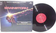 BRAINSTORM Soundtrack OST LP James Horner Score 1983 Varese Sarabande Vinyl VG+