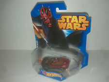 Disney Hot wheels STAR WARS DARTH MAUL  - MATTEL  CGW44  voitures