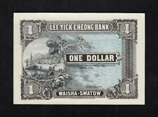 F.C. CHINA , LEE YICK CHEONG BANK , 1 DOLAR 1914 , S/C ( UNC ) .