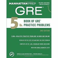 5 Lb. Book of GRE Practice Problems by Manhattan Prep (Paperback, 2015)