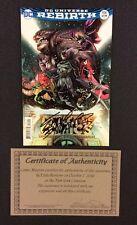 BATMAN DETECTIVE COMICS #934 Signed EDDY BARROWS DC Universe Rebirth COA NM