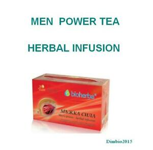 Men Power Tea,Sexual Function,Prostatit,Libido,Potency,Diuretic effect-20teabag