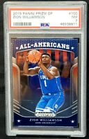 2019 Prizm RC New Orleans Pelicans ZION WILLIAMSON Rookie Card PSA 7 NM