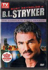 B.L. Stryker (DVD, 2008, 3-Disc Set, 3-DVDs) Complete 1st Season  Burt Reynolds