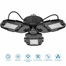 LED Garage Lights Deformable LED Garage Ceiling Light 80W 8000LM LED Shop Lamp