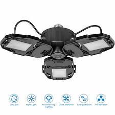 LED Garage Lights Deformable LED Garage Ceiling Light 80W 8000LM LED Shop Lamp