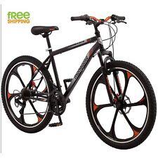 """Mongoose Mountain Bike Black 26"""" Men Alloy Wheel Bicycle Disc Brake Shimano New!"""