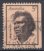 Australien Briefmarke gestempelt 5c Albert Namatjira Maler Künstler / 12