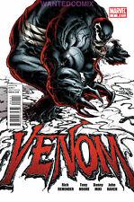 VENOM #1 JOE QUESADA 2011 MARVEL COMIC BOOK 1st PRINT SPIDER-MAN 300 REMENDER NM