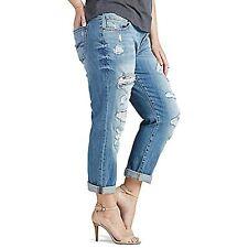 $99 Lucky Brand Women's Plus Size Reese Mid Rise Boyfriend Jean Size 22W