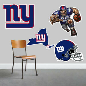 New York Giants Wall Art 4 Piece Set Large Size------New in Box------