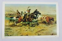 """Herd Quitter Russell Charles Montana Old West Cowboy Art Print 11 1/2"""" x 17 1/2"""""""