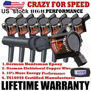 Superperformance Ignition Coil 8 Pack For Ford F150 F250 F550 4.6/5.4L DG508 V8