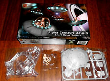 Alpha Centauri UFO Short Range Saucers fliegende Untertasse  1:32 Pegasus 9102