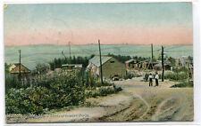 Stone Sheds at Granite Works Waldoboro Maine 1907 postcard