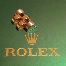 ROLEX LINK 18K/SS 12 MM FOR MIDSIZE 31 MM DATEJUST AUTHENTIC