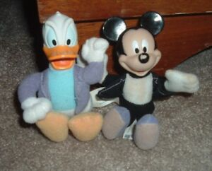 Disney House of Mouse McDonald's Happy Meal Toys Mickey Mouse & Donald Duck