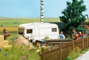 HO Scale Accessories - 6050 - Permanent Camper - Kit