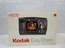 Kodak EasyShare CX4200 2.0 MP Camera With Cables, CD, Manuals, SD Card & Case