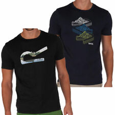 Polyester Solid Short Sleeve Graphic Tees for Men