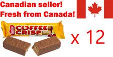 12 Coffee Crisp chocolate candy bar nestle Canadian FRESH FROM CANADA