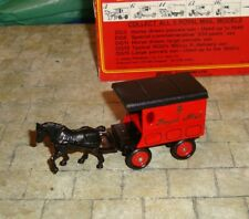 LLEDO - DAYS GONE - HORSE DRAWN DELIVERY VAN - ROYAL MAIL - BOXED