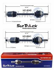 Acura Legend Fwd 1991-1995 Front Left & Right Cv Axle Shafts SurTrack Set(Fits: Acura Legend)