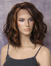 Fashion Everyday Style Lace Front Wig Brown Auburn mix Super Natural ppq 4-27-30