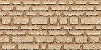 Heki 70022 H0 2 Platten Sandsteinmauer 14x28cm NEU OVP /