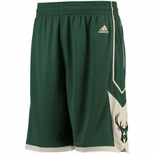 New Season Milwaukee Bucks White Basketball Shorts Size S-XXL