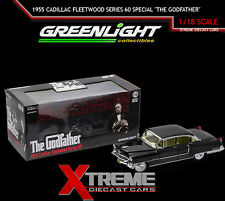 "GREENLIGHT 12949 1:18 1955 CADILLAC FLEETWOOD SERIES 60 SPECIAL ""THE GODFATHER"""
