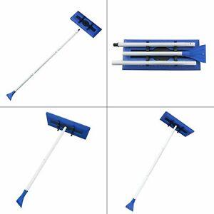 18 in. snow broom with ice scraper