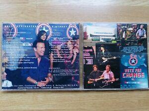 2 CD BRUCE SPRINGSTEEN MEADOWLANDS NIGHT VOTE FOR CHANGE USA LIVE 2004 VEDDER...