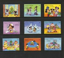"Antigua ""Christmas 1993"" - Scott #'s 1742-52 - Disney Topical - Mnh"
