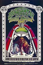 MINT Janis Joplin 1969 BG 165 ONLY SOLO Fillmore Poster