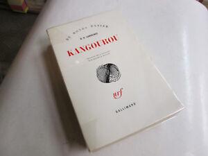 kangourou .D.H.LAWRENCE  ..NRF/GALLIMARD..