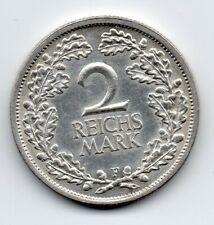 Germany - Duitsland - 2 Mark 1926 F