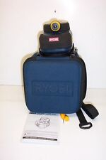 RYOBI AIR-GRIP LASER LEVEL WITH CASE-INSTRUCTIONS ETC.
